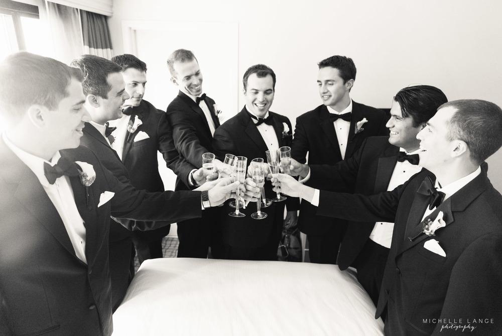Groomsmen Champagne Liberty House Jersey City Wedding.jpg
