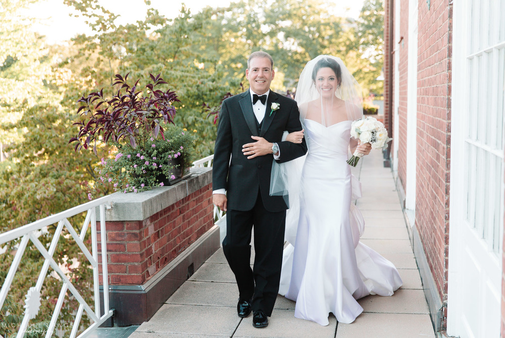 Classic New Haven Lawn Club Wedding
