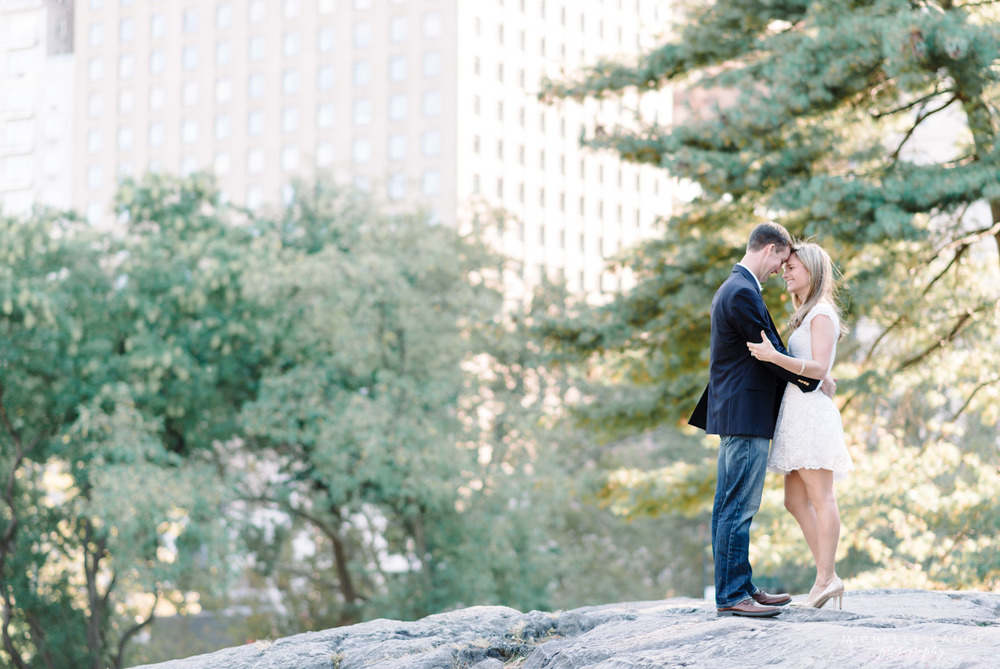 Central Park Fall New York Engagement Photography