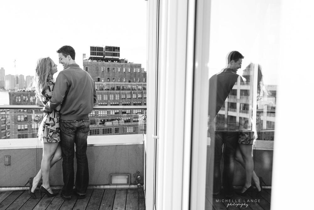 James Hotel Soho New York Engagement Photography