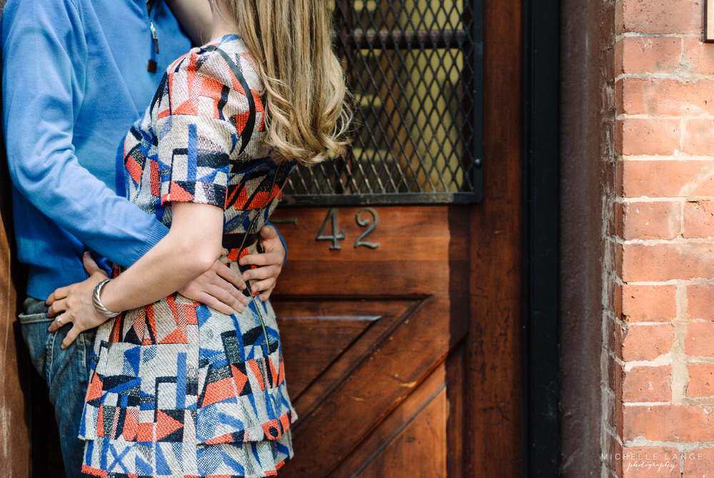 West Village Fall New York Engagement Photography