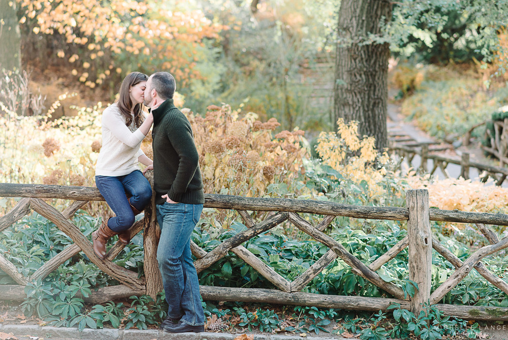Central Park New York City Engagement Photographer