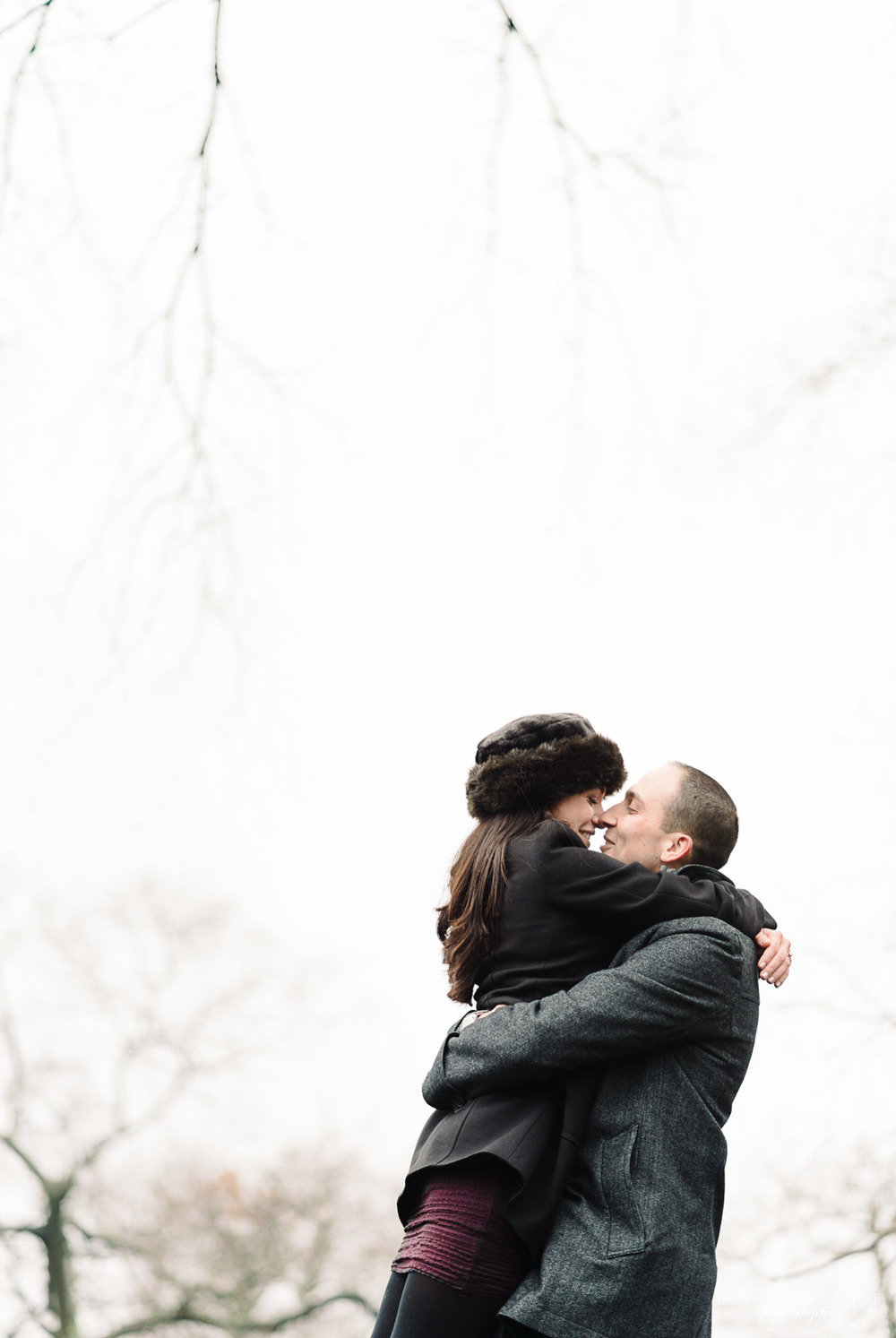 Jaime & Matt's Fort Tryon Park Engagement