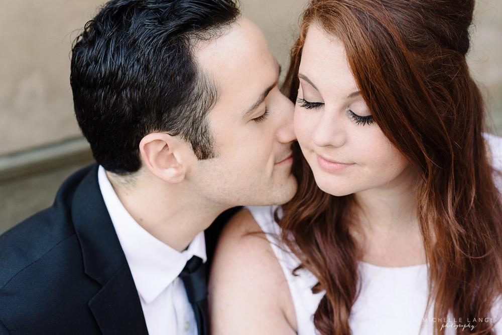 Elise & Sal's Bethesda Terrace Engagement