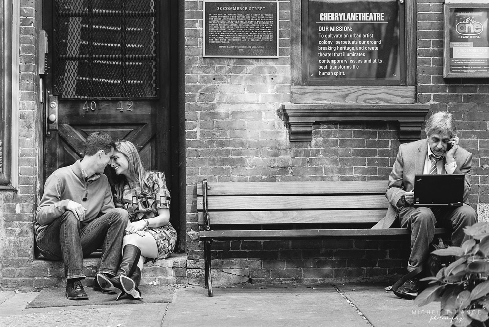 Meredith & Kevin's West Village Engagement