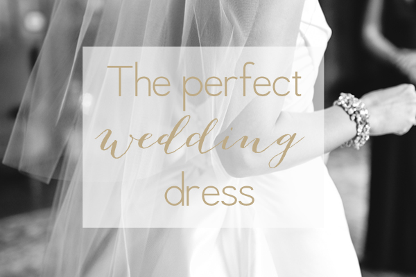 The perfect, comfortable wedding dress