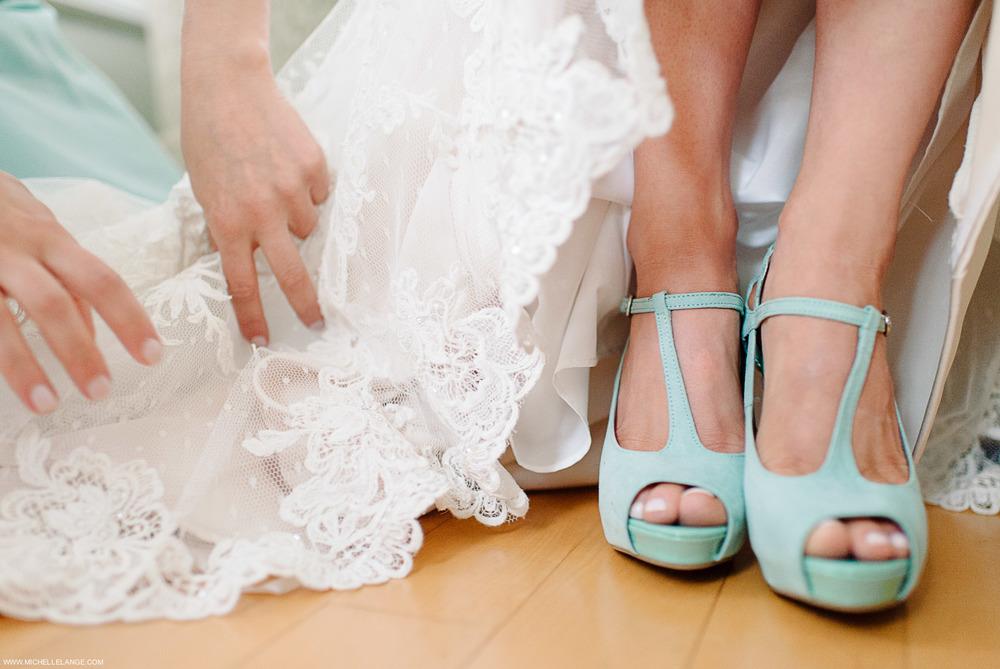 Something blue shoes.