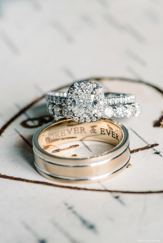 Personalized Ring Shot New Jersey Wedding Photographer