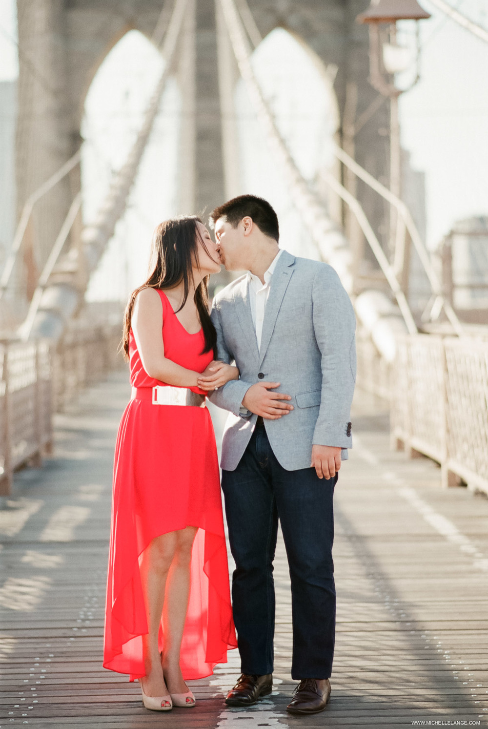 Brooklyn Bridge Engagement Photographer