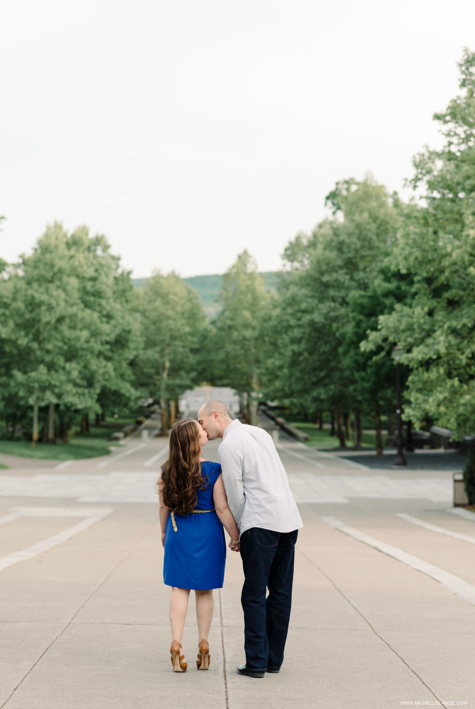 Cornell University Engagement Photographer