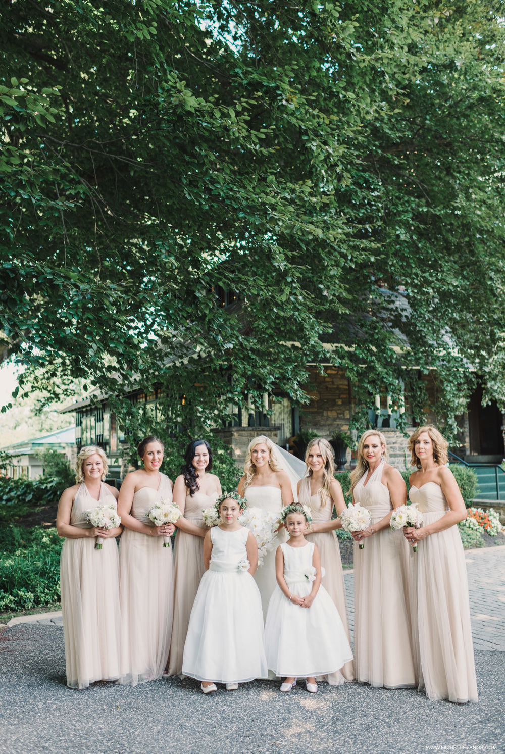 Jenny Yoo Champagne Bridesmaids Wedding Photographer