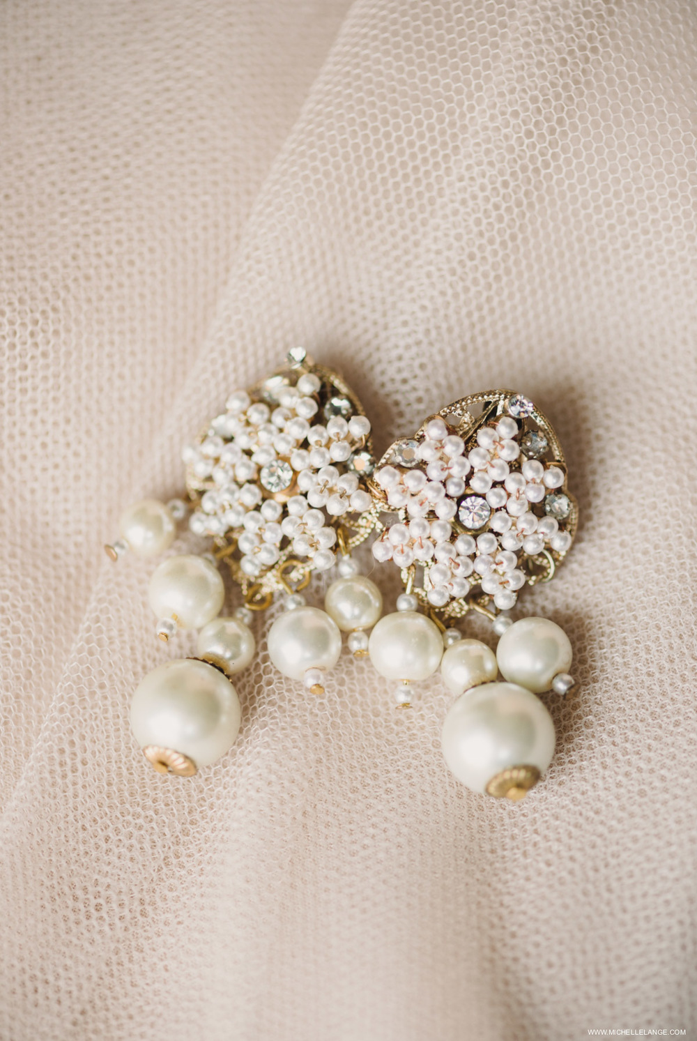 Vintage Earring NJ Wedding Photographer