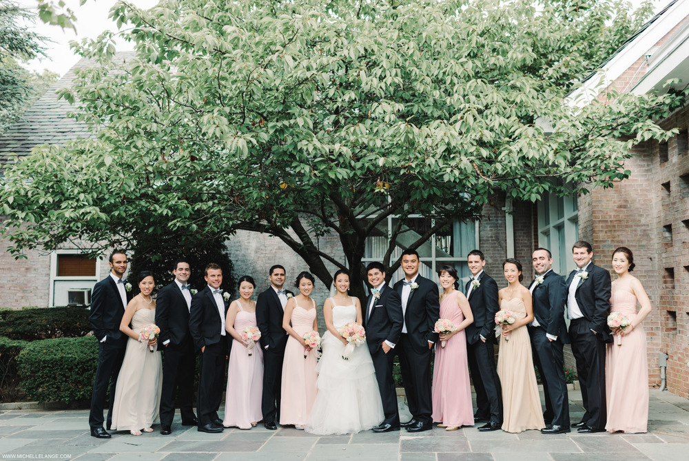 Bridal Party at The Carltun in Long Island