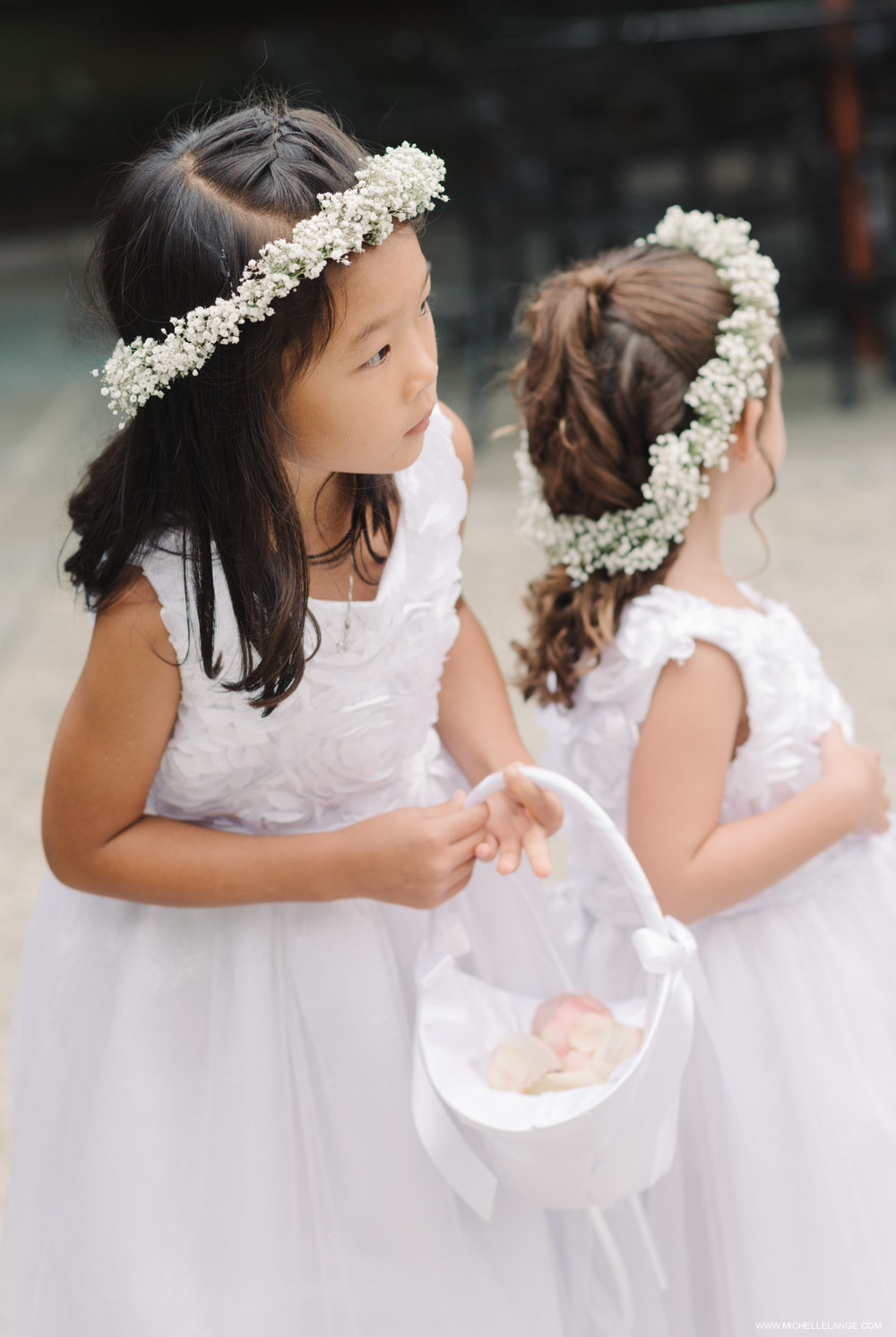 Flowergirls Awaiting the Bride The Carltun Long Island