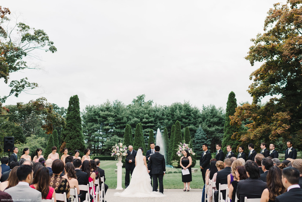 Carltun Long Island Outdoor Ceremony