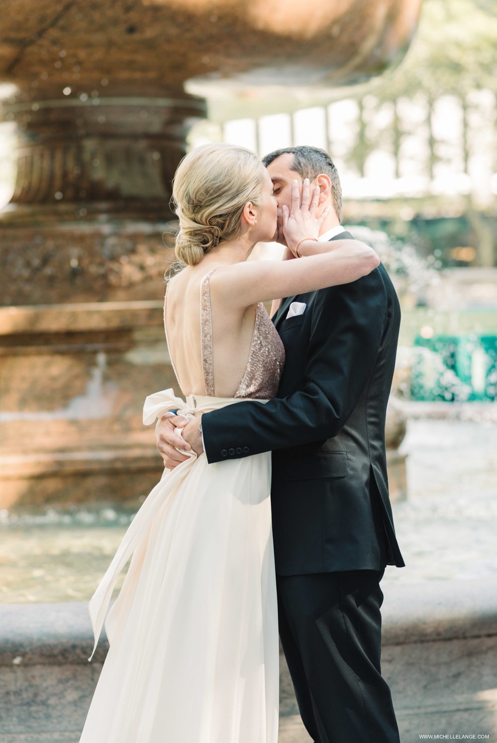 NYC Bryant Park Elopement Photographer