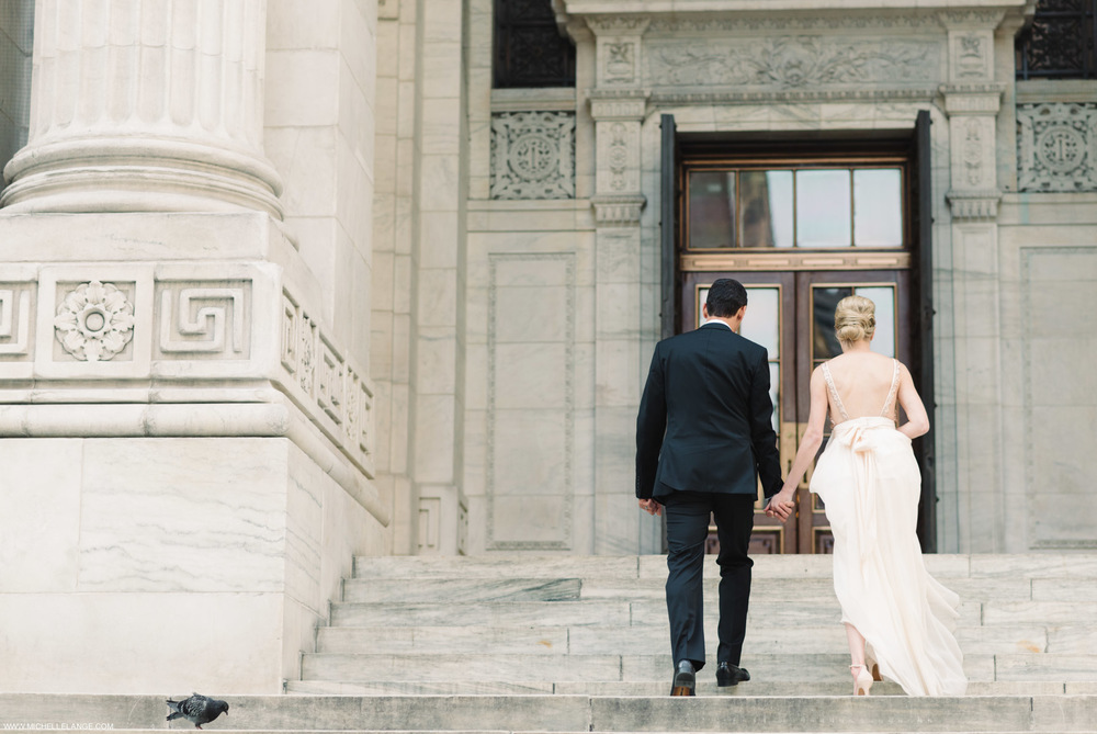 NYC New York Public Library Wedding Photographer