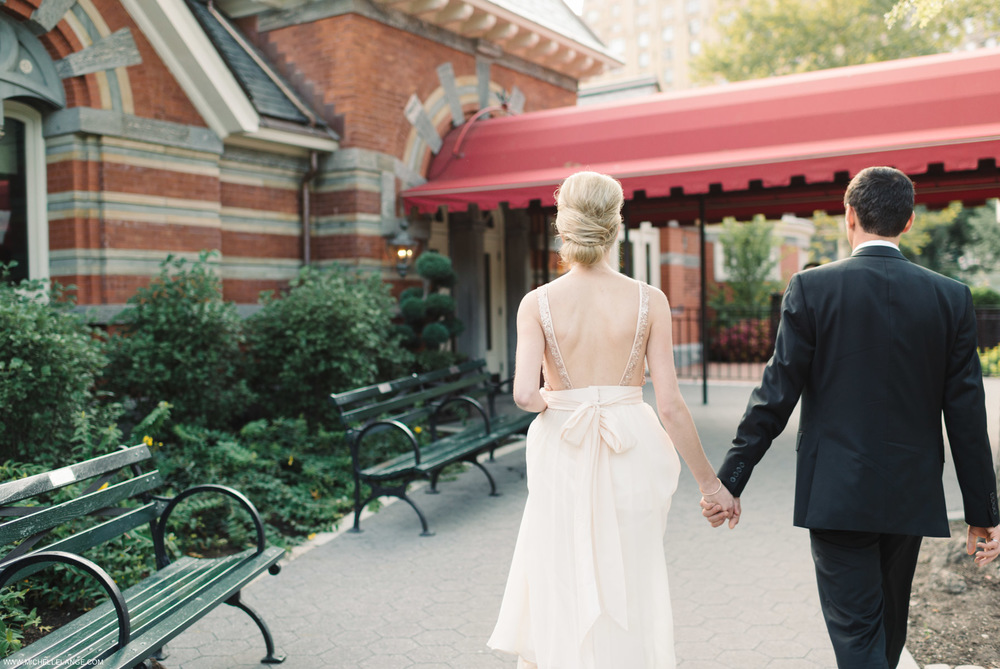 NYC Tavern on The Green Elopement Photographer