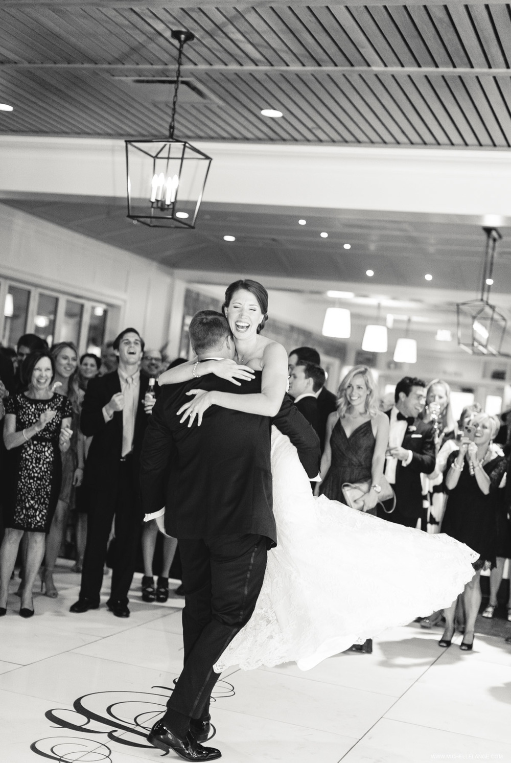First Dance Riverhouse at Rumson Country Club Wedding