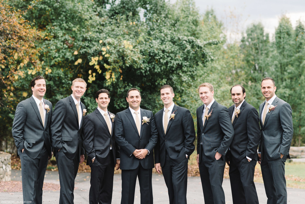 Groomsmen Brotherhood Winery Wedding