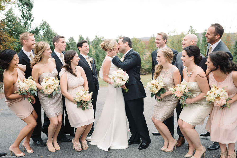 Bridal Party Brotherhood Winery Wedding