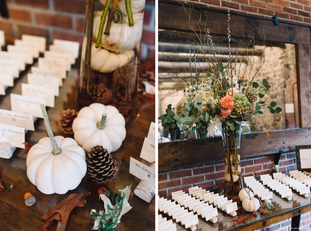 White Pumpkins Brotherhood Winery Wedding