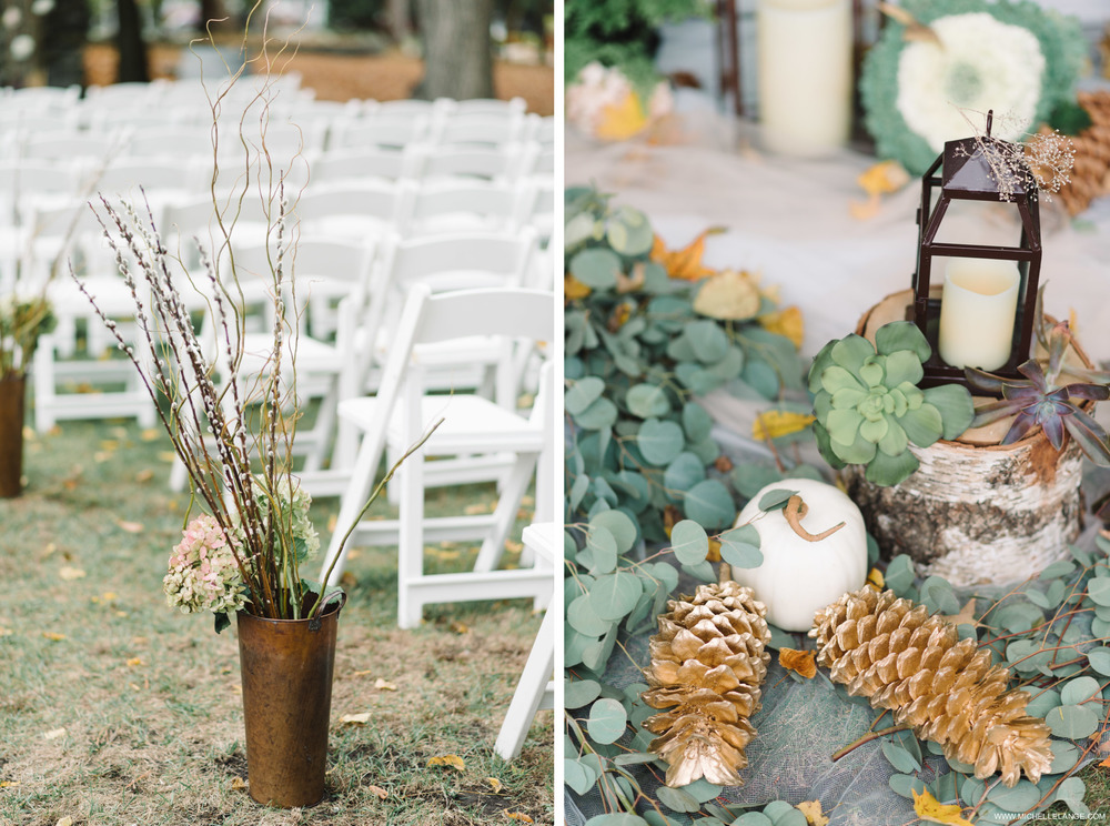 Rustic Fall Ceremony Brotherhood Winery Wedding