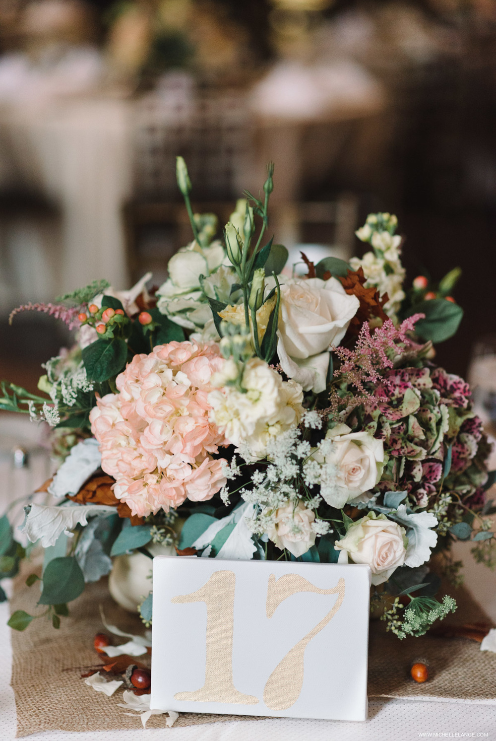 Rustic Centerpieces Brotherhood Winery Wedding