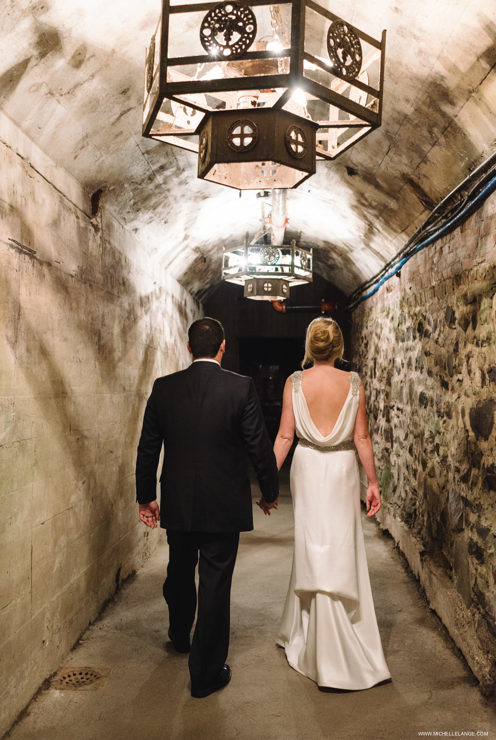 Wine Cellar Brotherhood Winery Wedding