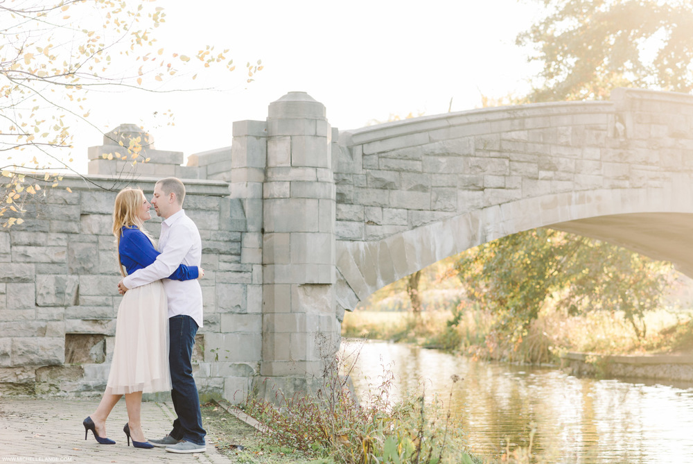 Fall Verona Park Engagement