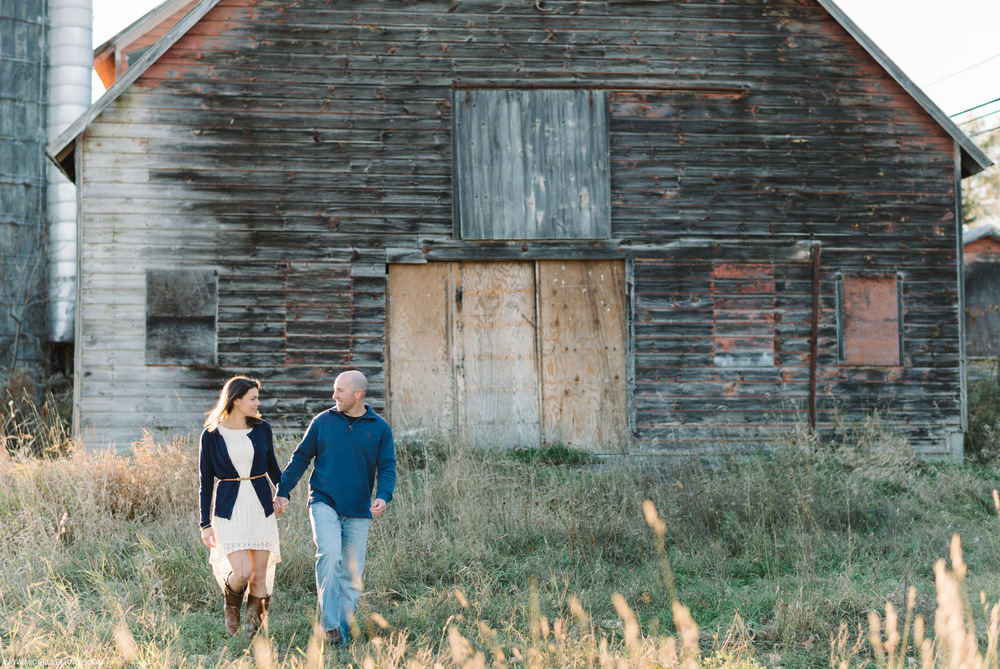 Upstate New York Fall Engagement Photographer