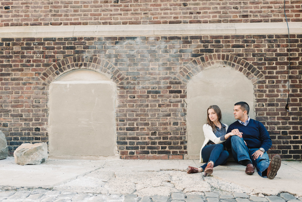 Hoboken Waterfront New Jersey Engagement