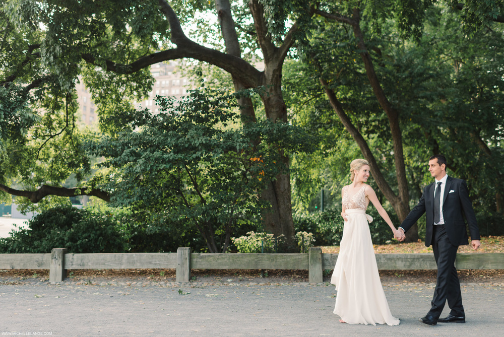 Central Park New York City Elopement