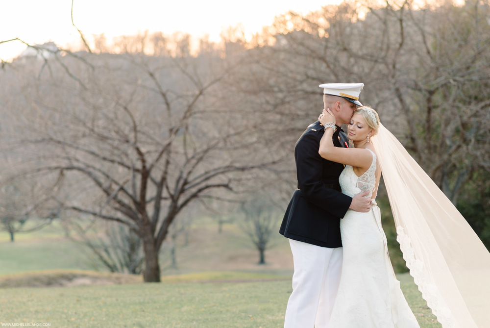 Romantic Pastel Military New Jersey Wedding