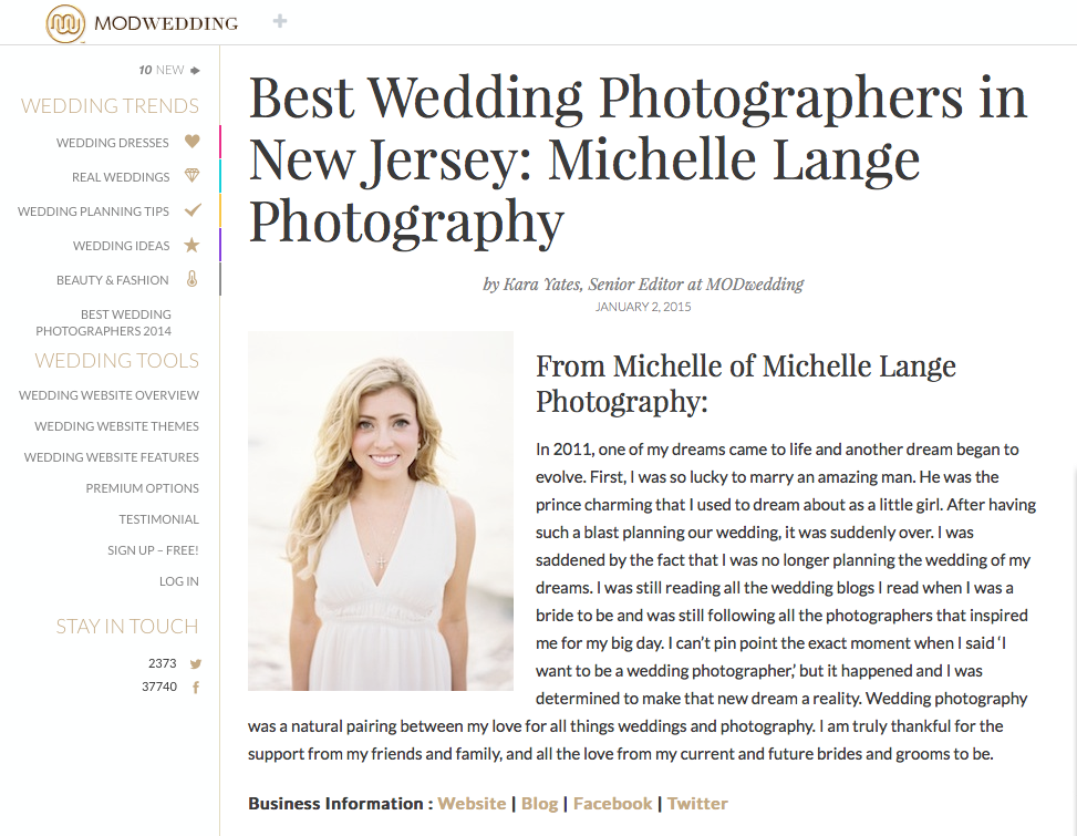 NJ Best Wedding Photographer