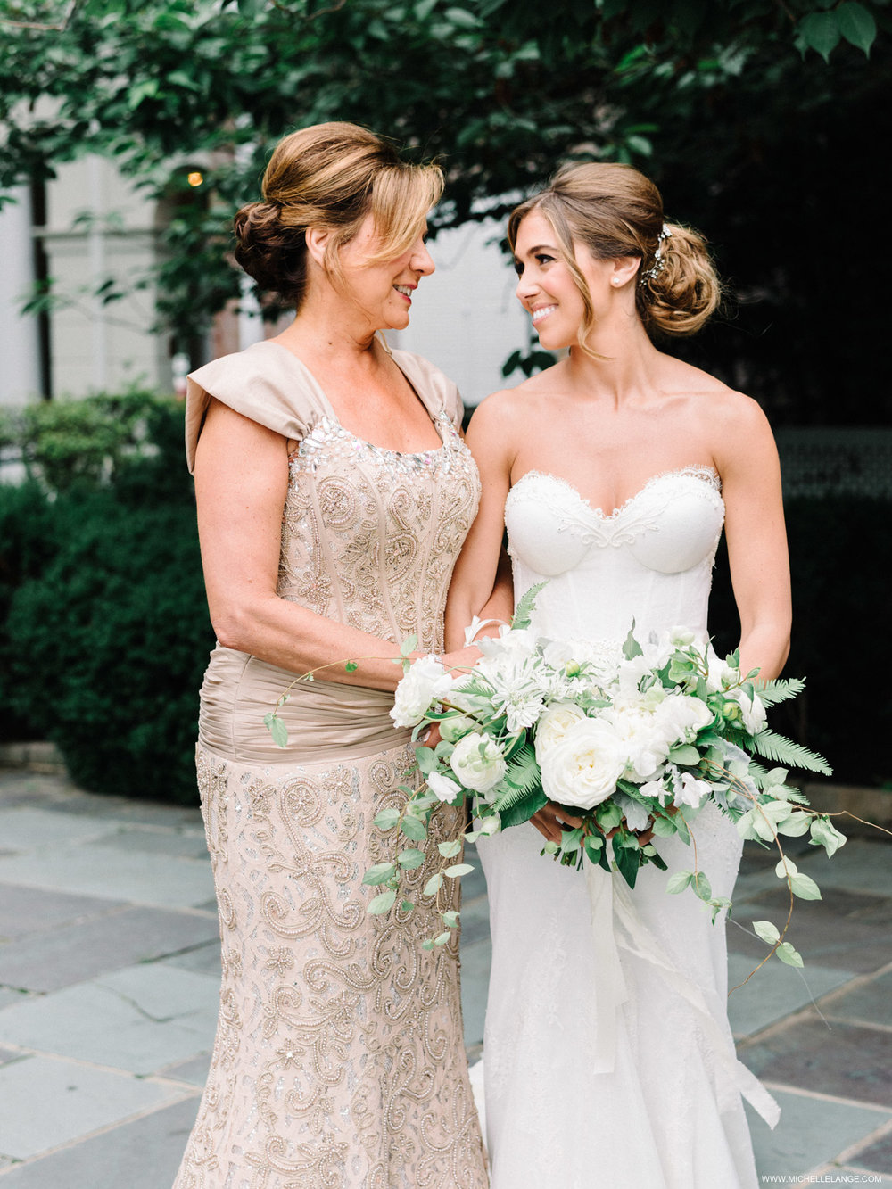 NY Wedding Photographer with Mom and Bride