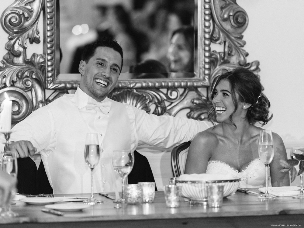 NY Wedding Photographer at The Carltun Long Island with Black and White Reception