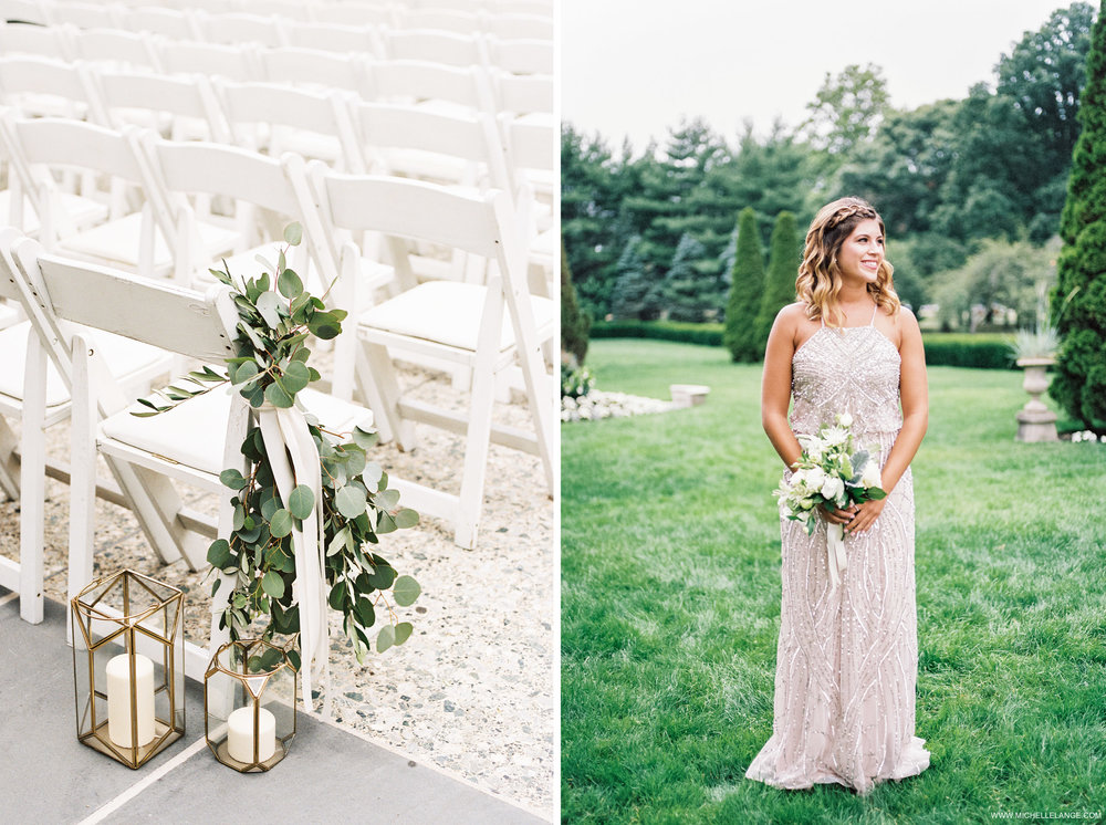 NY Wedding Photographer with Ava Flora Gilded Lily Events and Adrianna Papell