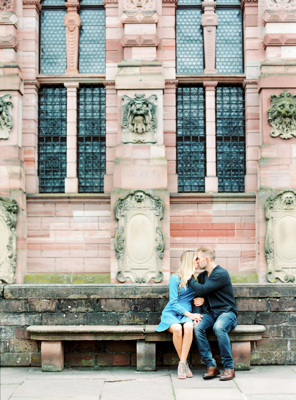 Heidelberg Germany Engagement Fine Art Film Photographer