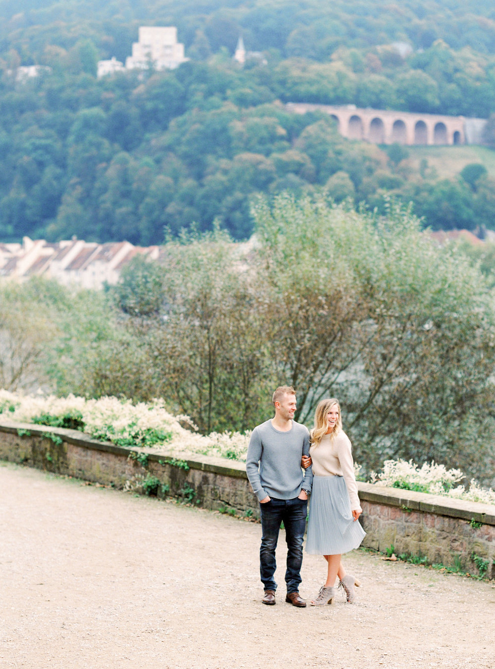 Heidelberg Germany Engagement photographed by NJ, NYC and Destination Photographer