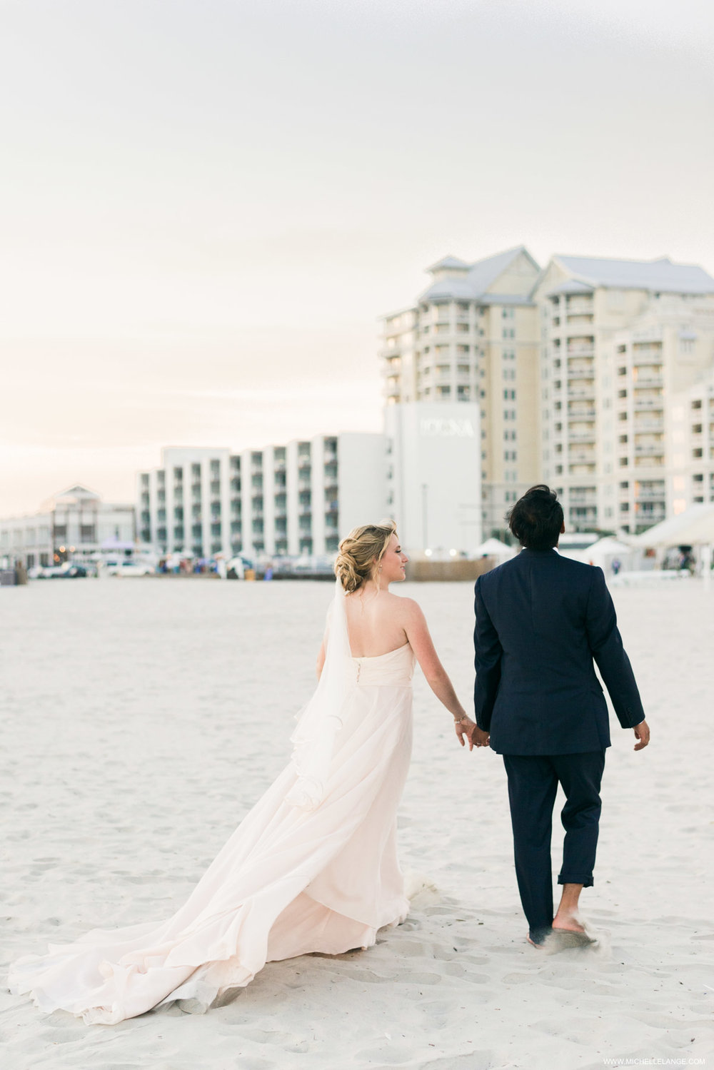 Hotel Icona Diamond Beach Wedding Photographer in Cape May NJ