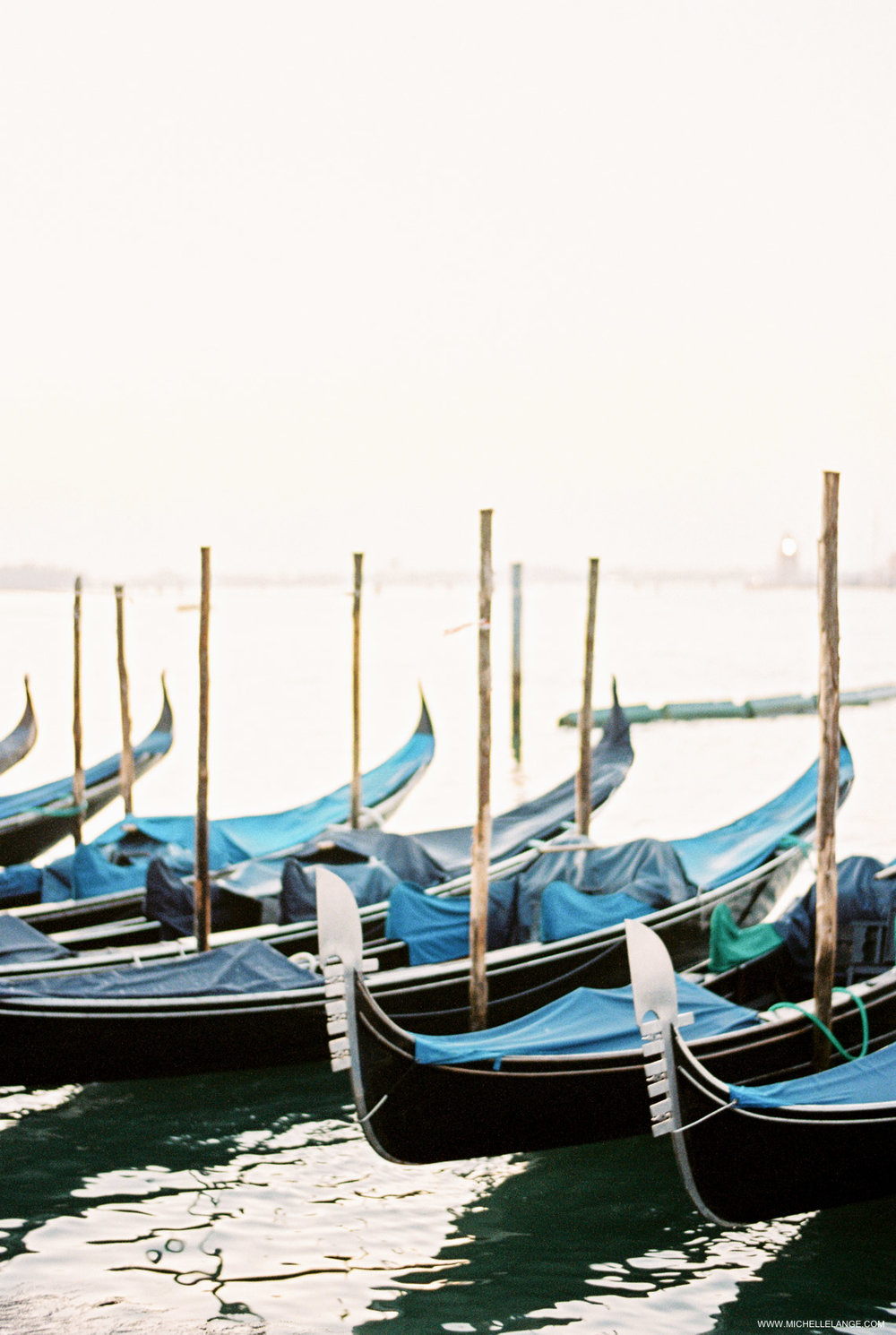 Venice Travel Photography - Gondolas