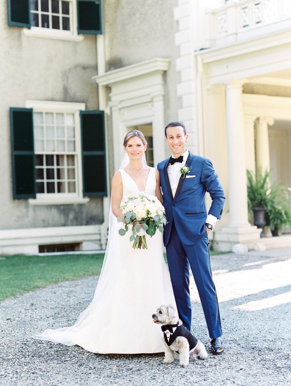 Manchester Vermont Wedding at Hildene Estate