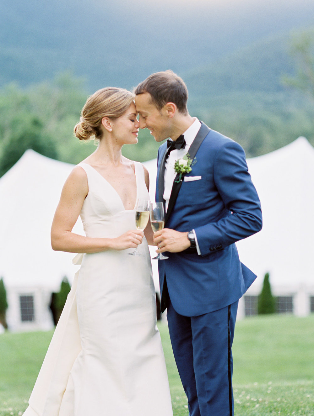 Manchester Vermont Wedding Hildene Estate portraits