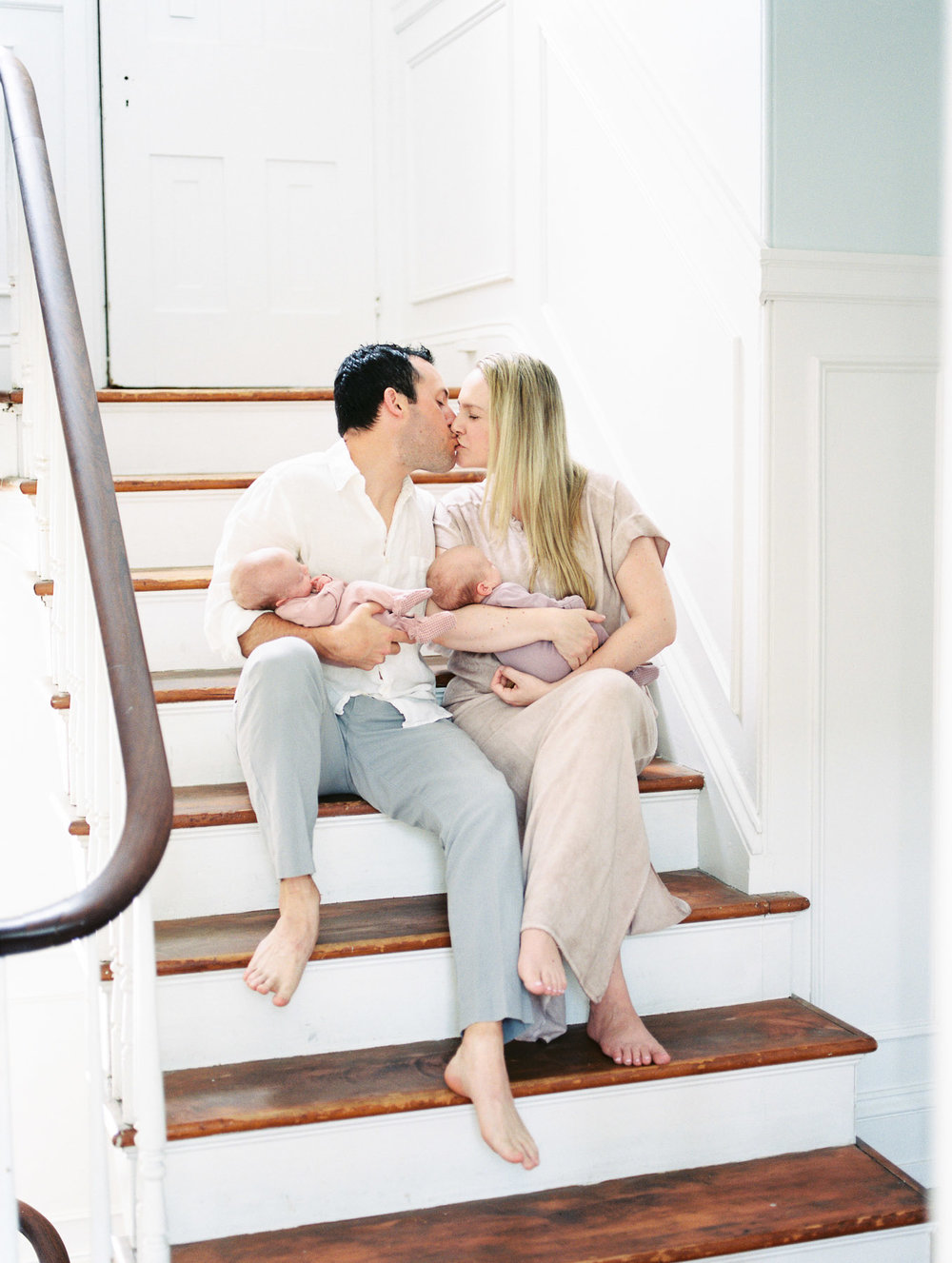 Favorite Photo of Family on Staircase
