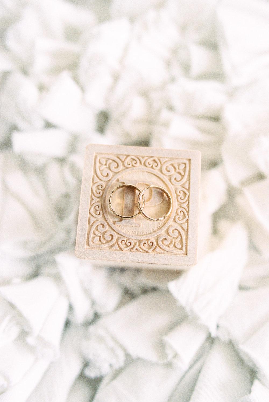 Baby rings engraved