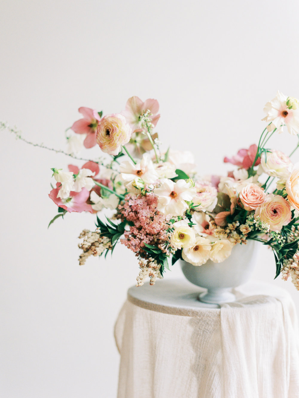 Ava Flora Soft Palette Spring Wedding Bouquet