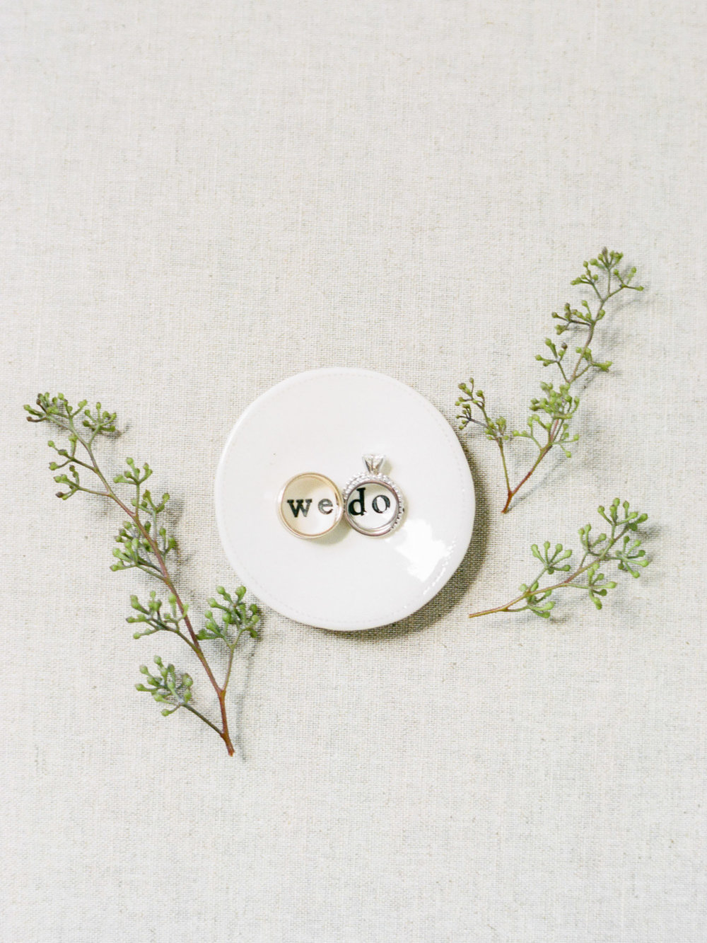 Wedding ring styling idea