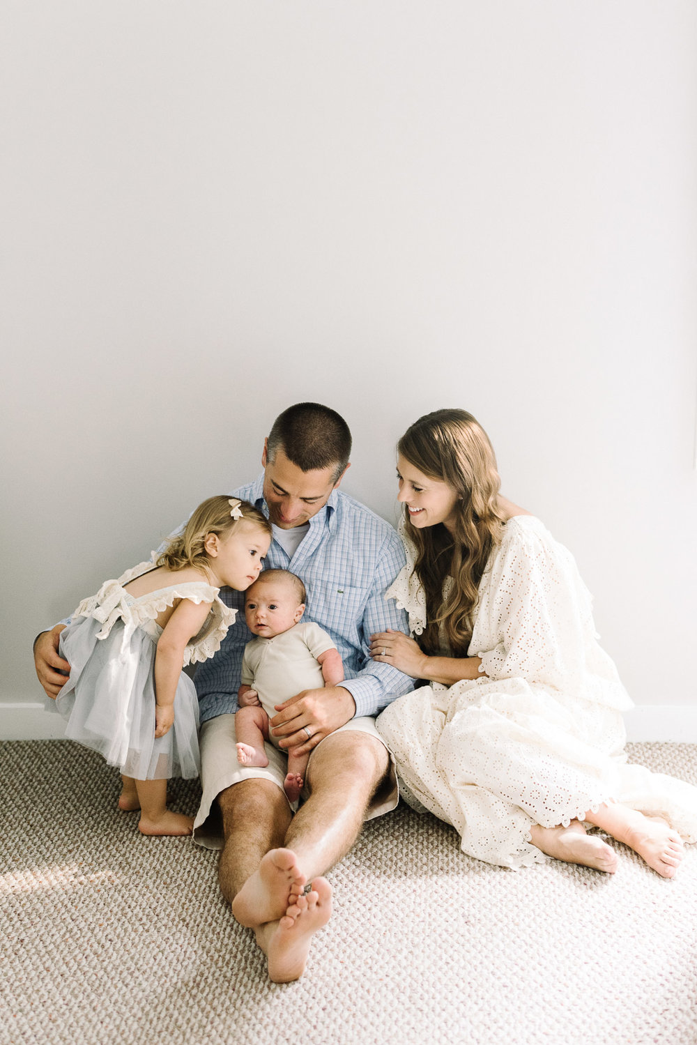 NJ and NY In-home newborn and family photography