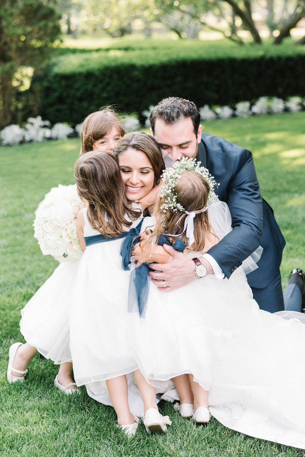 The Carltun Long Island Wedding with Flower Girls